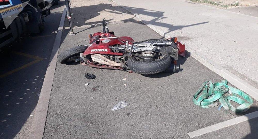 Райымбек даңғылы мен Емцов көшесінің қиылысында мотоциклші көз жұмды