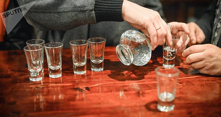 a vodka infúziója segít a lábak varikózisában