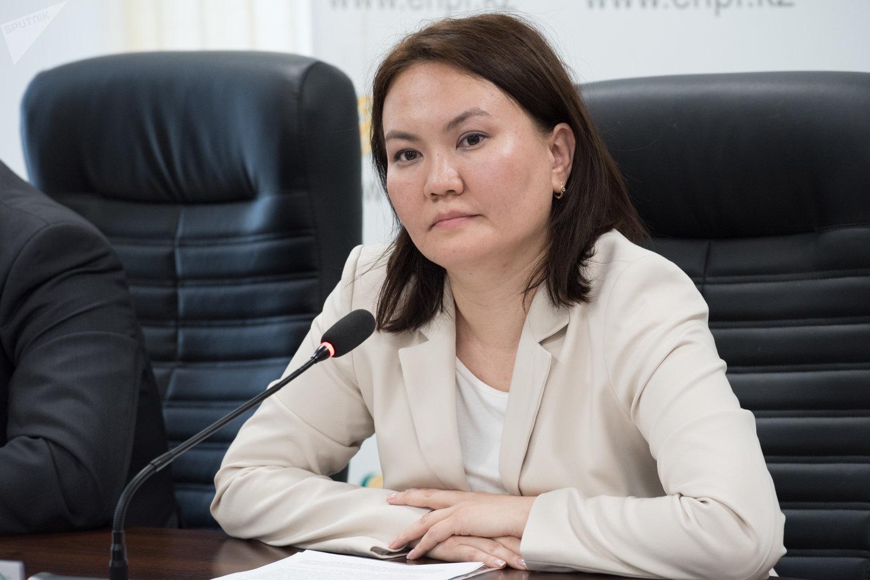 Заместитель председателя правления АО ЕНПФ Сауле Егеубаева