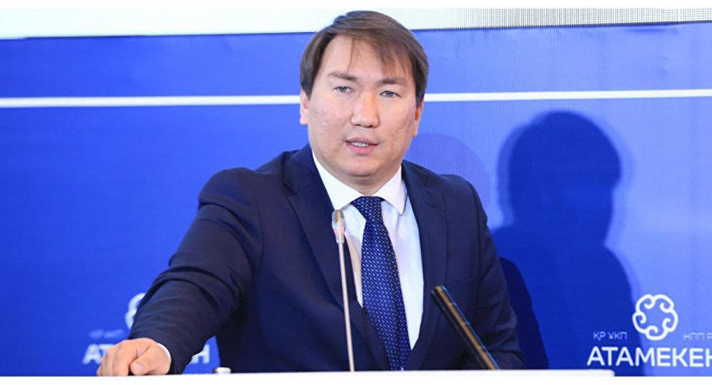 Директор департамента антикоррупционной политики Данияр Сабырбаев
