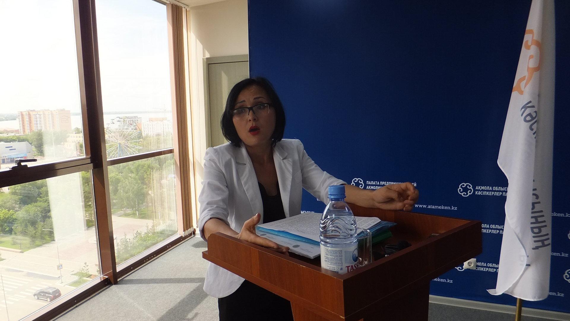 Руководитель отдела культуры Сандыктауского района Акмолинской области Мадина Дюсенбаева