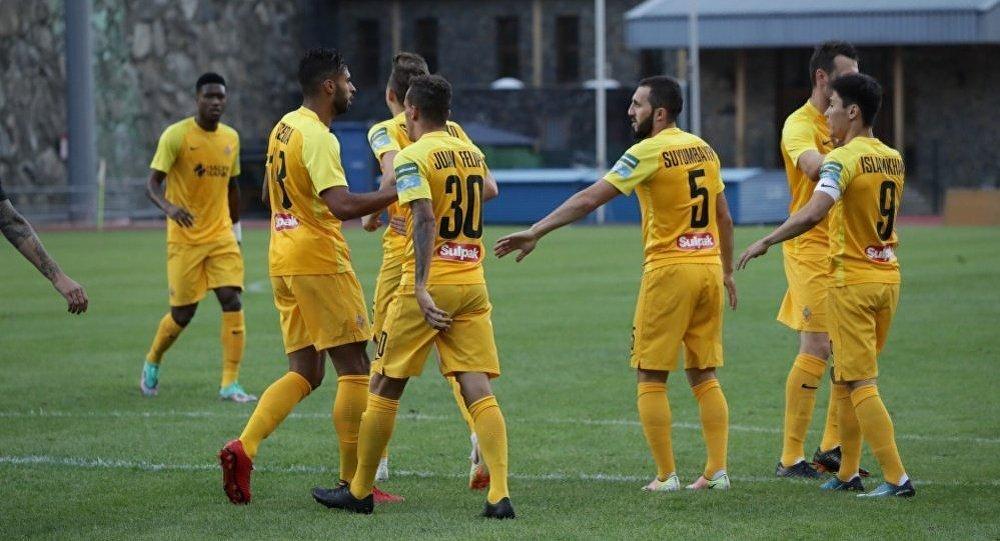 Кайрат разгромил клуб из Андоры на старте Лиги Европы