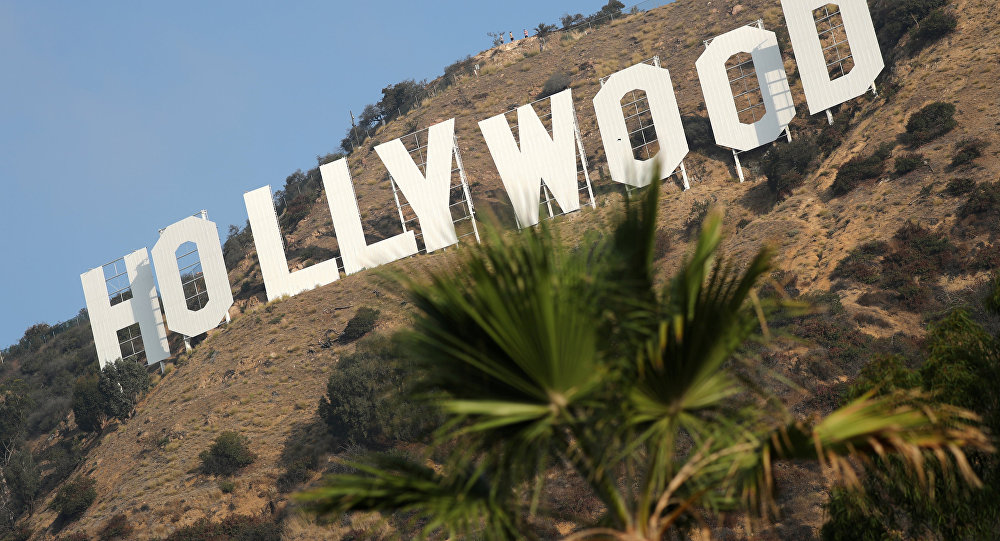 Знак Голливуда на холме, Лос-Анджелес