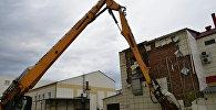 Снос здания ТЦ Зимняя вишня в Кемерово