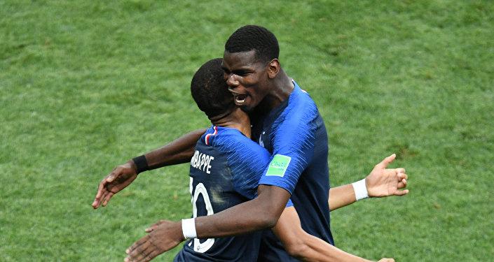 Финал ЧМ 2018. Франция - Хорватия