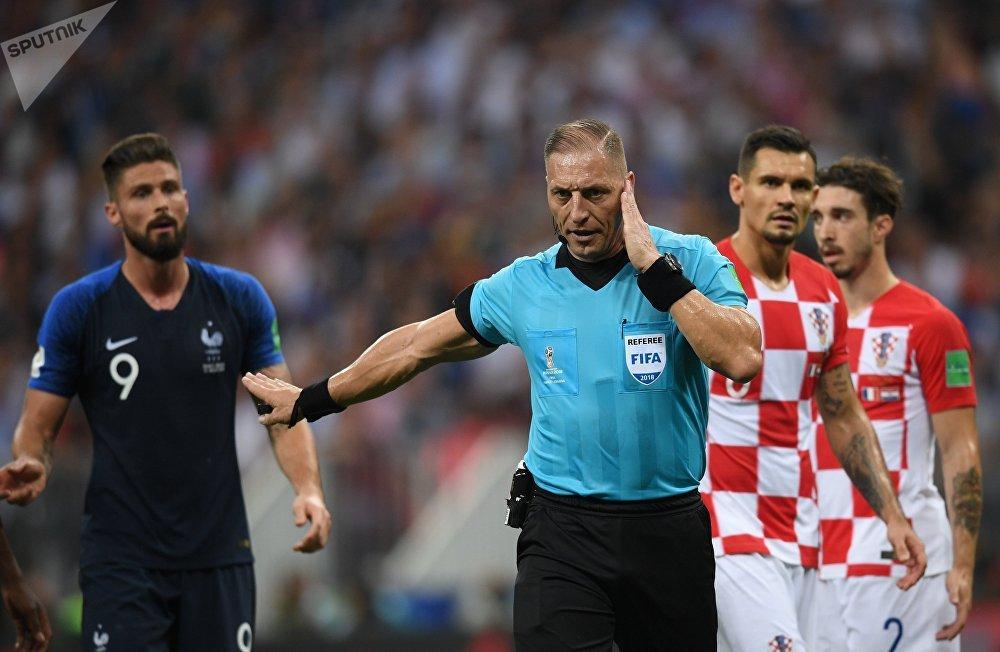 Футбол. ЧМ-2018. Финал. Матч Франция – Хорватия