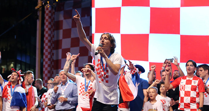 Капитан сборной Хорватии Лука Модрич