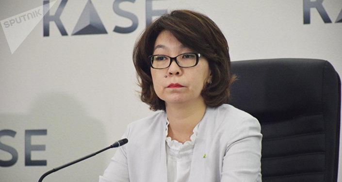 Председатель правления KASE Алина Алдамберген