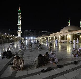 Паломники в городе Медина