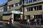 Центральная городская клиническая больница Алматы, где скончался Денис Тен