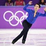 Денис Тен 2018 жылғы Пхенчхандағы олимпиадада