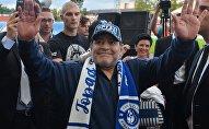 Диего Марадона прибыл в Брест