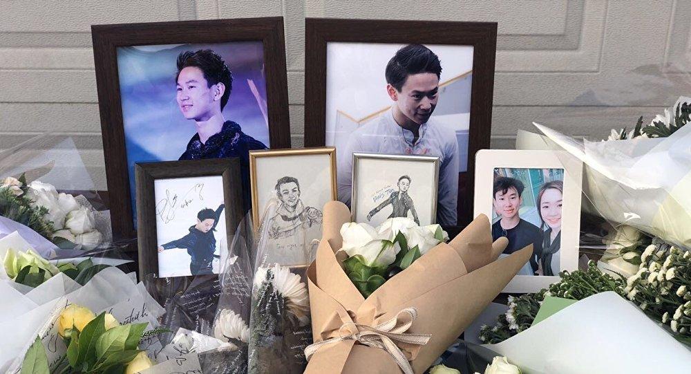 Акция памяти о Денисе Тене в Корее