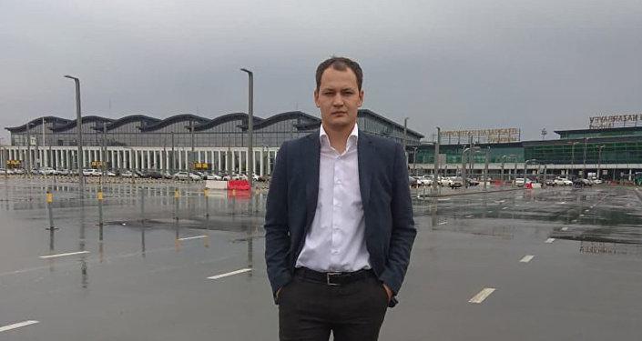 Директор департамента по управлению парковочными пространствами ТОО Astana LRT Николай Антипов