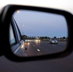 Автокөлік айнасы,иллюстративті фото
