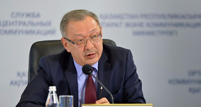 Заместитель министра внутренних дел Рашид Жакупов