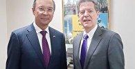 Қазақстанның сыртқы істер министрі АҚШ-қа барды