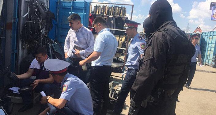 Астананың автокөлік базарларын тексеру