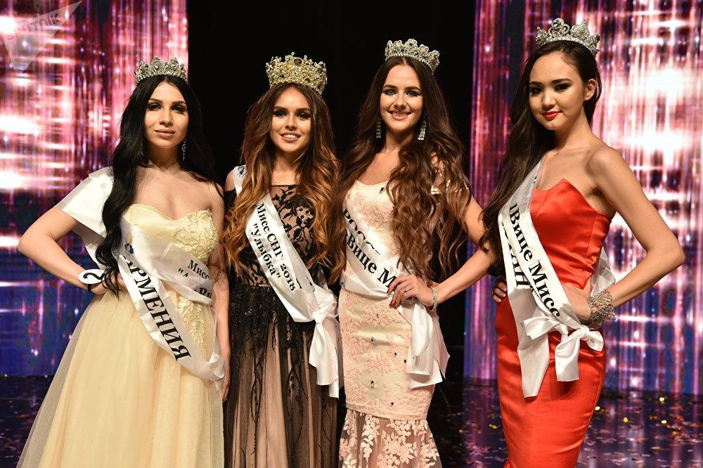 Финалистки конкурса Мисс СНГ