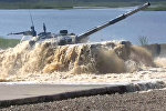 Российская команда стала лидером второго дня Танкового биатлона