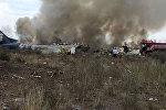Самолет Embraer 190, потерпевший крушение в аэропорту Дуранго в Мексике