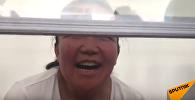 Дело казашки из Китая: эмоциональное видео после освобождения из зала суда