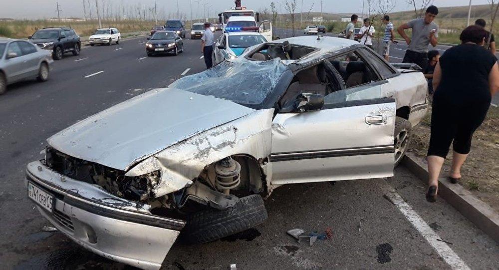 ДТП со смертельным исходом произошло по улице Бауыржана Момышулы в Алматы
