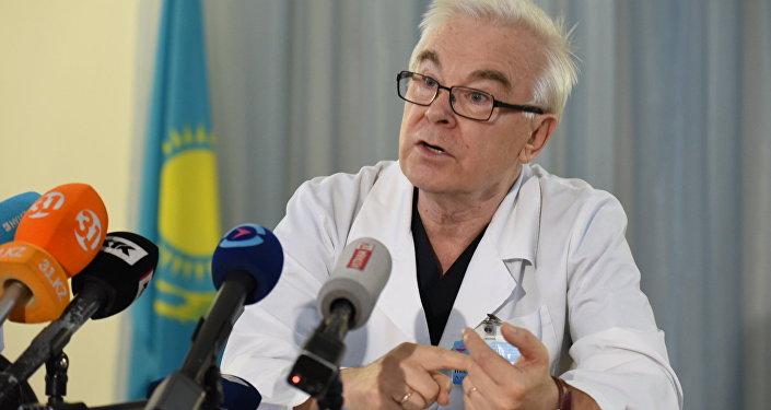 Врач-нейрохирург больницы детской неотложной помощи Алматы Николай Дьяченко