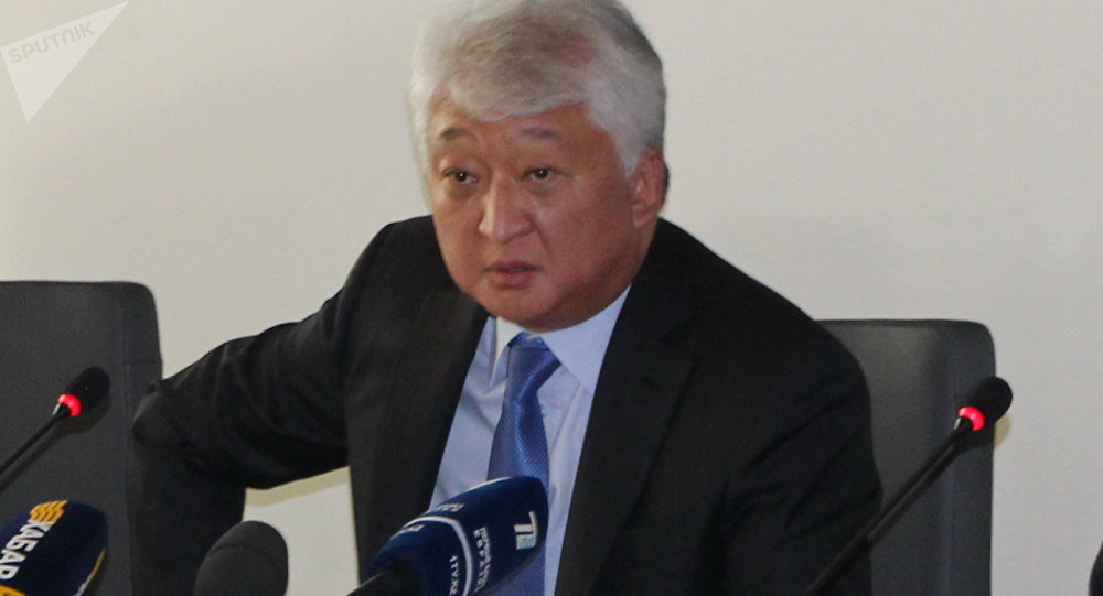 Казахстанский бизнесмен Владимир Ким