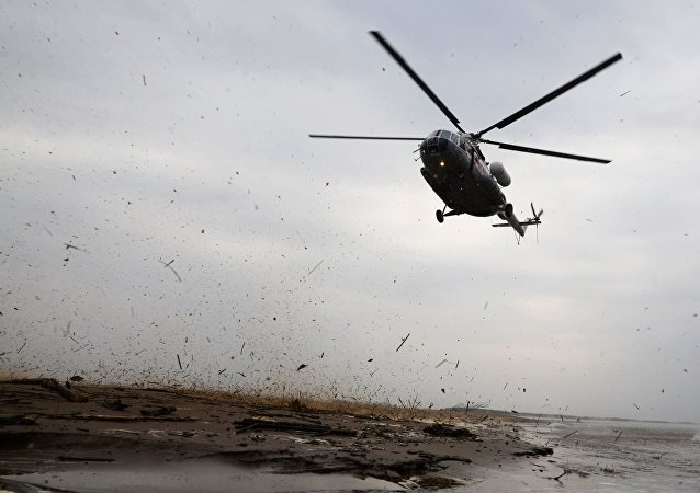 Вертолет Ми-8, архивное фото