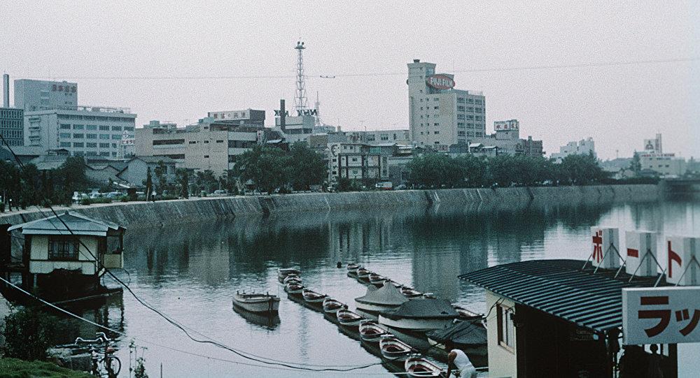 Япония. Остров Хонсю. Город Хиросима.