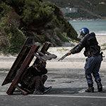 Джастин Салливан, ЮАР. Номинация Главные новости, название фото Противостояние