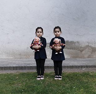 Шива Хадеми, Иран. Снимок Близнецы. Категории Портрет. Герой нашего времени, серии
