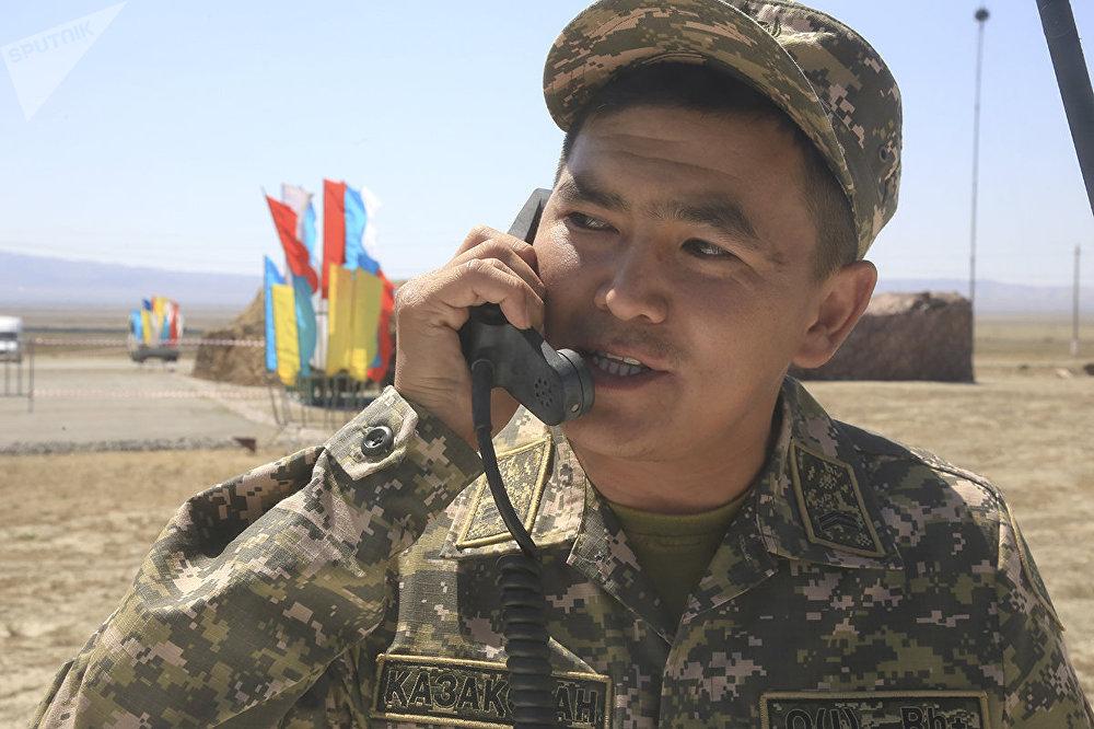 Армейские международные игры на военной базе Отар