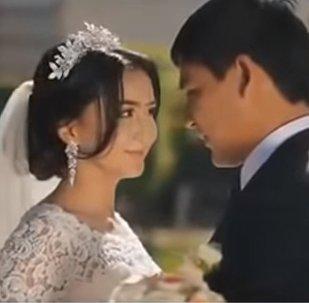 Видео со свадьбы дочери президента Кыргызстана