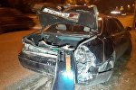 В крупной аварии на Рыскулова пострадала семья из пяти человек