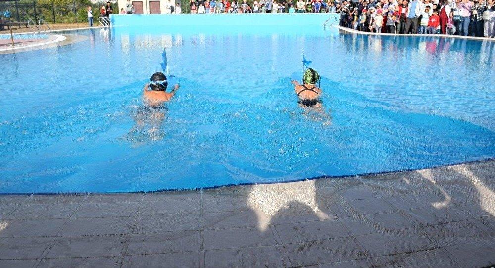 3c5ea4280723e Первый открытый бассейн появился в Экибастузе в конце лета