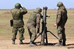 Конкурс Мастера артиллерийского огня-2018 в Южном военном округе