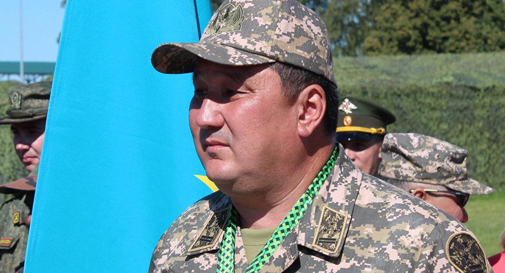 Полковник Ермек Кожамберлиев