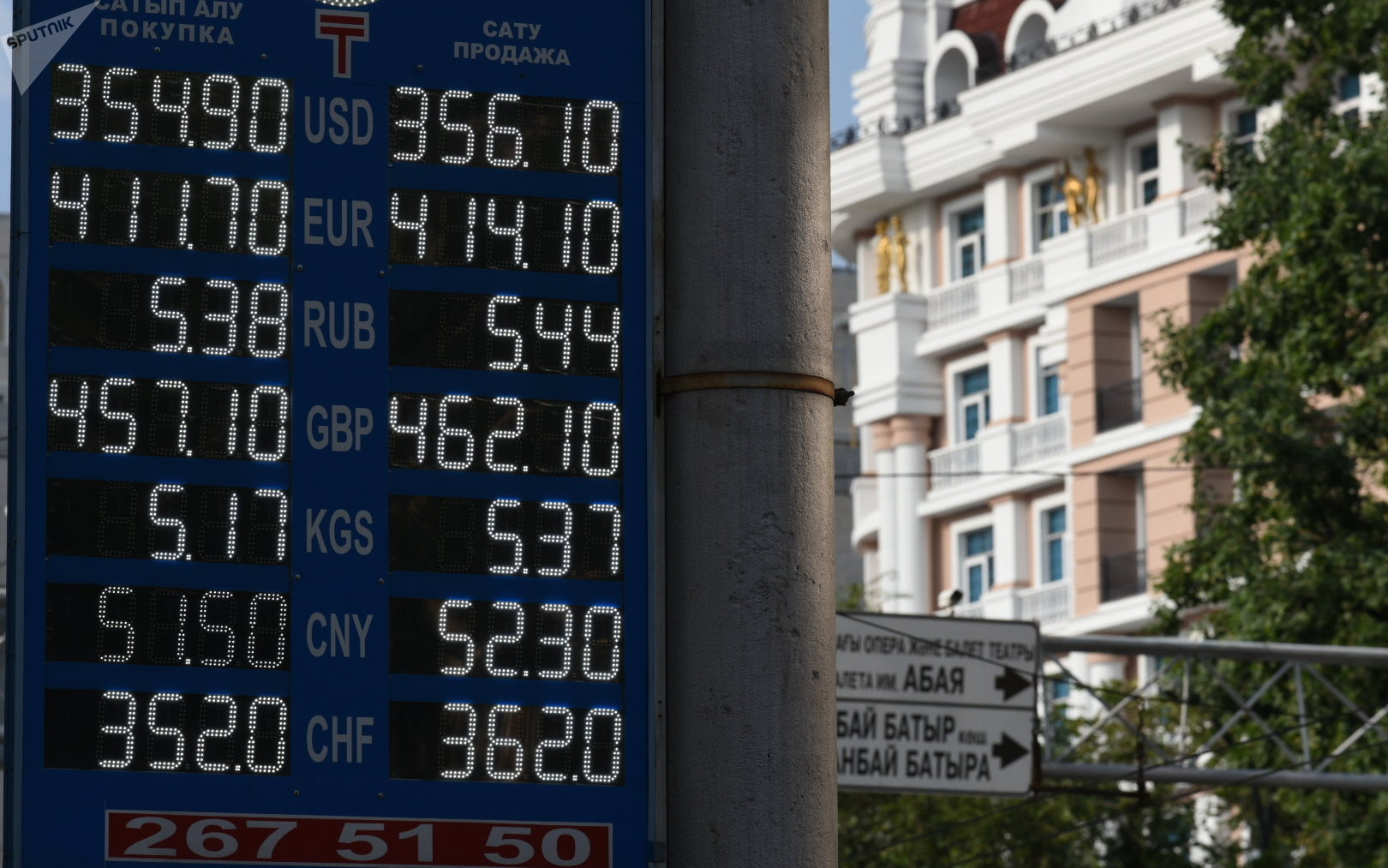 Курс валют в обменниках на 9 августа