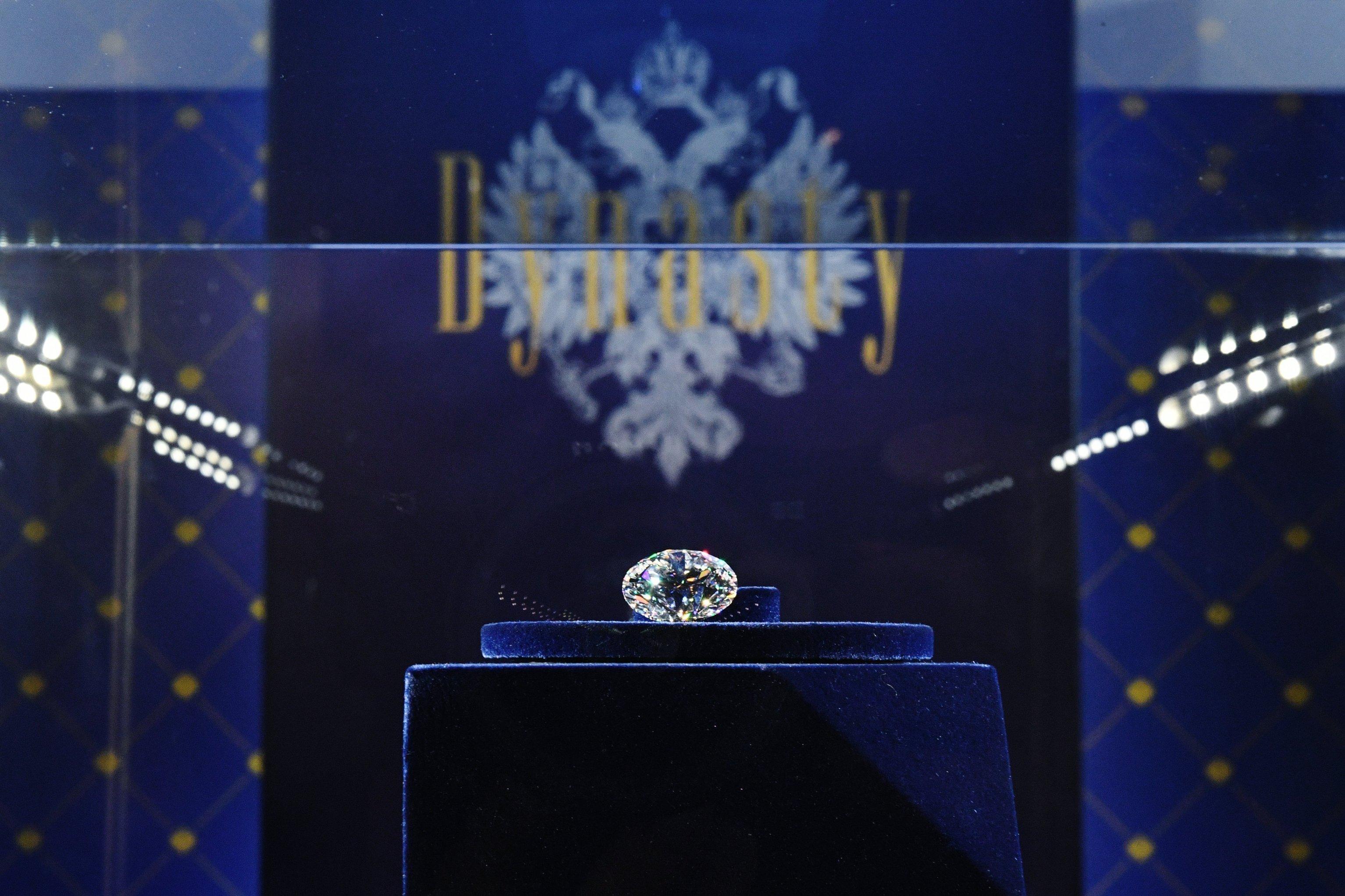 Закрытый показ коллекции бриллиантов Династия в Москве