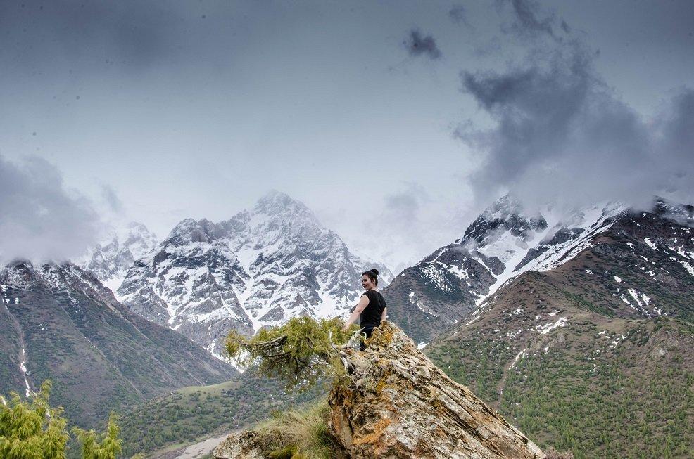 Түркістан облысындағы Сайрам-Өгем ұлттық паркі.