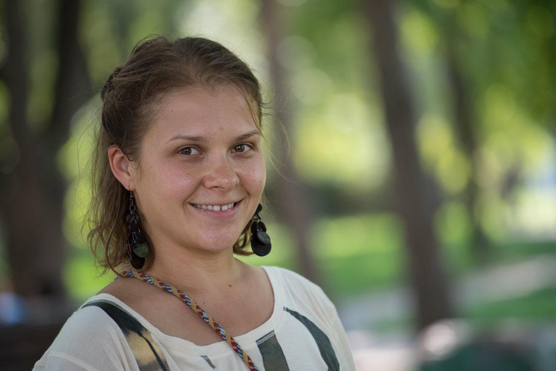 Дрессировщица Юлия Дудкина