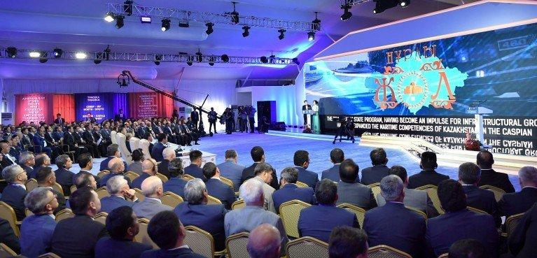 Участие в презентации мультимодального хаба порта Курык