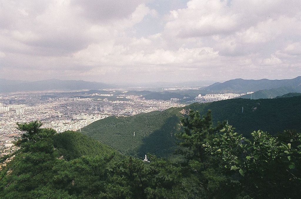 Виды Тегу, Южная Корея