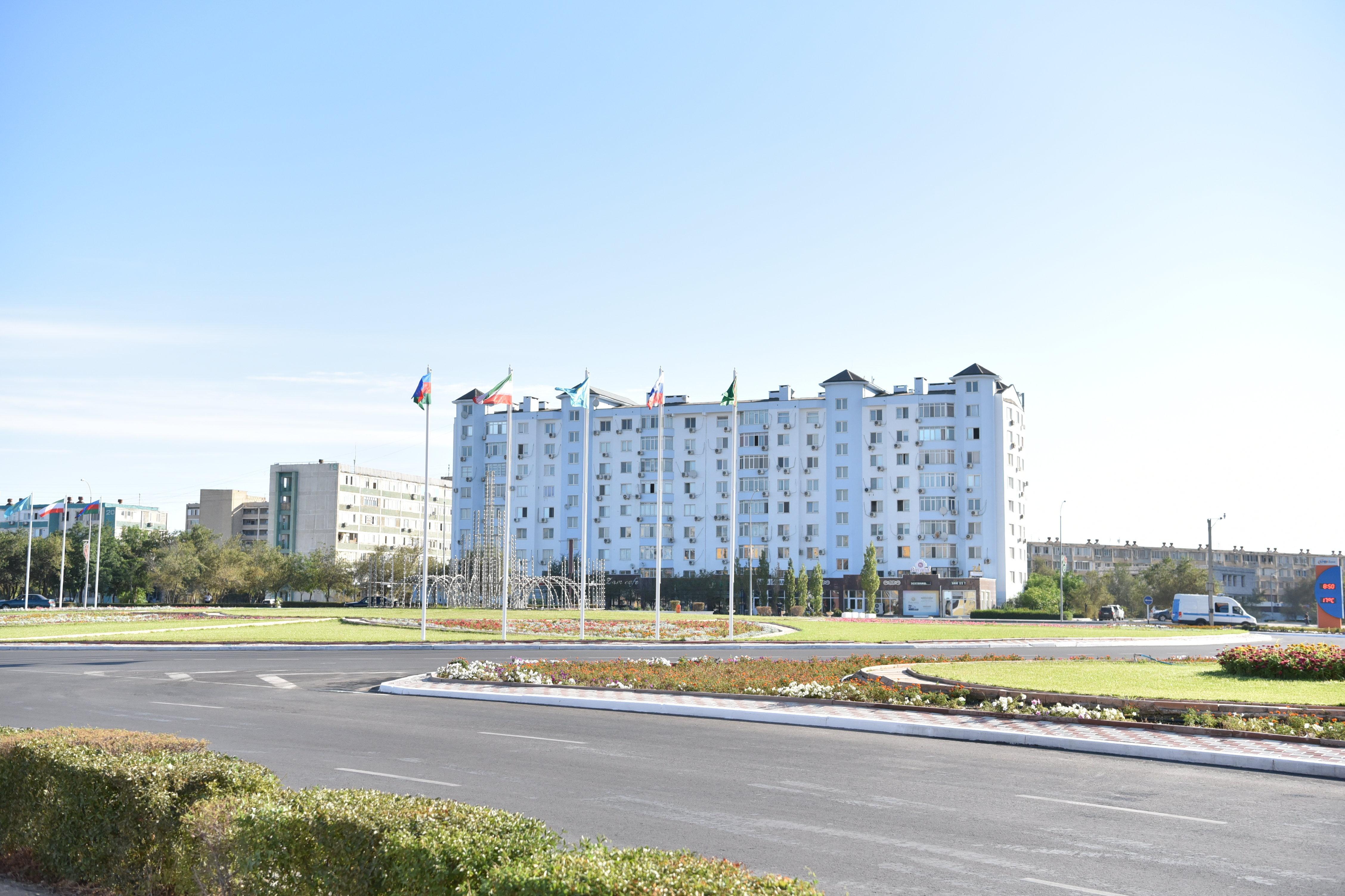 Совещание министров иностранных дел прикаспийских государств в Актау