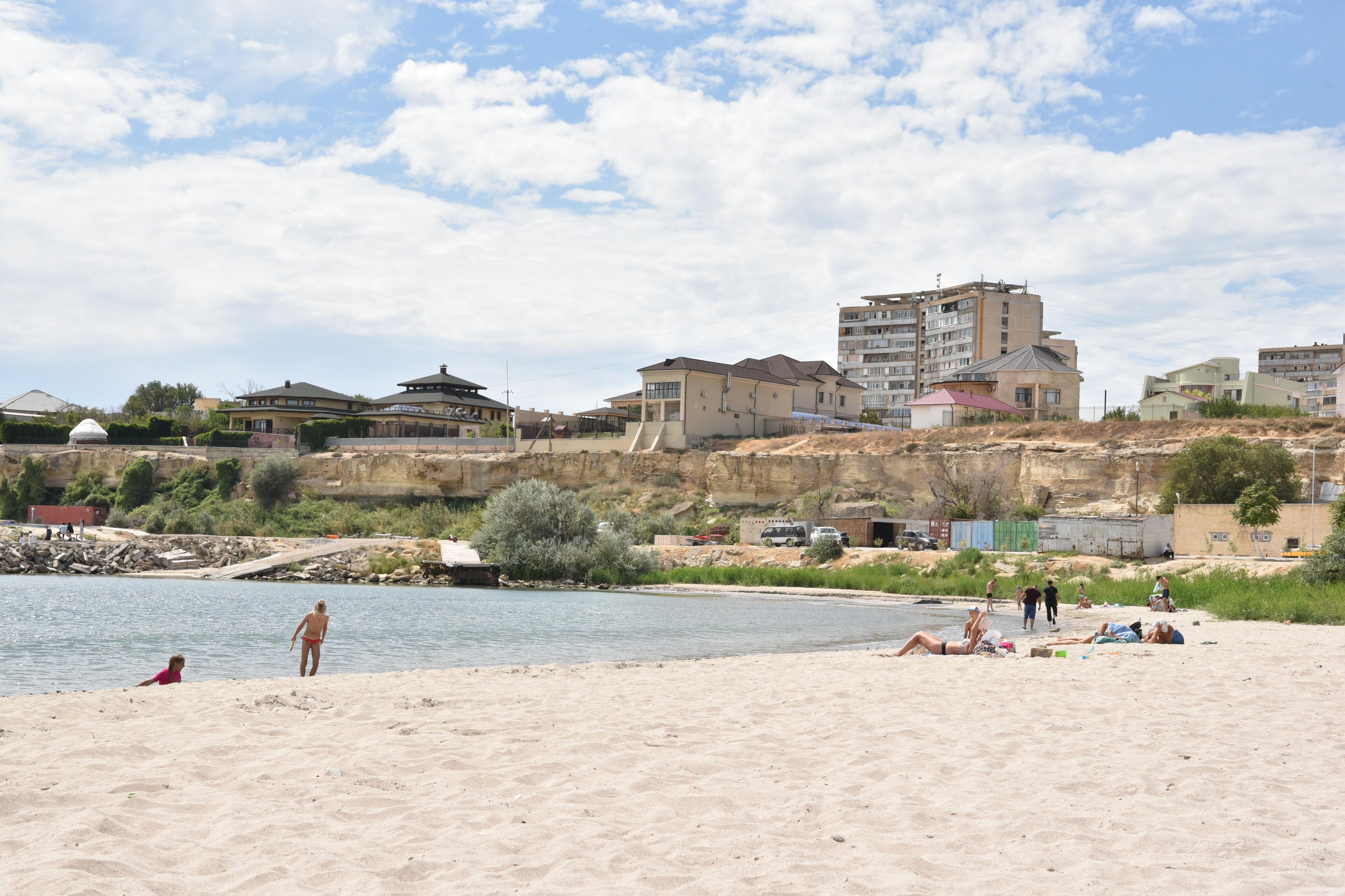 Пляж в Актау