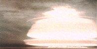 Испытание первой советской водородной бомбы в 1953 году.  Кадры из архива