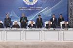 Подписание документов на V Саммите прикаспийских государств