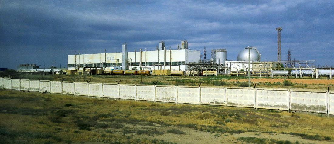Площадка №3, на которой находится кислородно-азотный завод